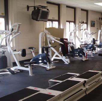 Bloomfield High School Fitness Room