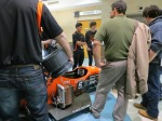 The RIT Racing Team's display was a big hit!