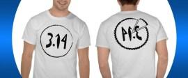 Fun pi t-shirt from www.zazzle.com