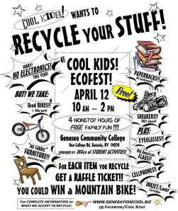 A small list of what there is to do at ECOFEST!