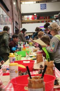 Crafting Fun at 2013 Ecofest!