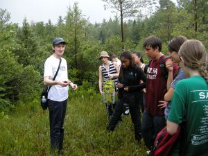 Outdoor learning is a key component of the EYYSI program