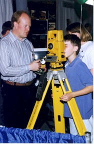 Taking a closer look with Survey equipment