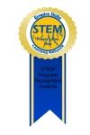 STEM award ribbon