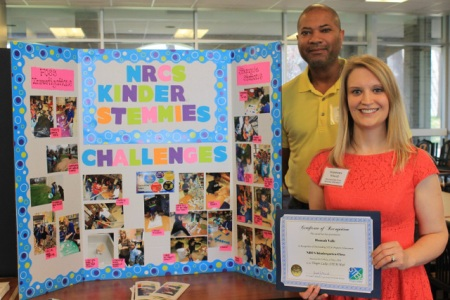 2016 STEM Program Award Recipient, Nathaniel Rochester Community School Kindergarten, Rochester City School District. Photo credit: Nadia Harvieux.