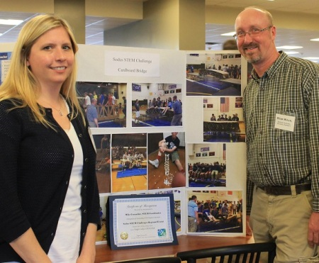 2016 STEM Program Award Recipient, Sodus Middle / High School STEM Challenges Program. Photo credit: Nadia Harvieux.